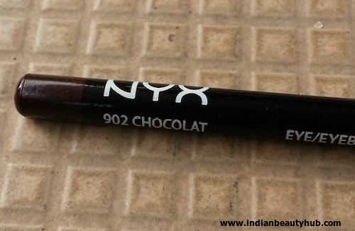 NYX Eye:Eyebrow Pencil Chocolate 902 Review 3