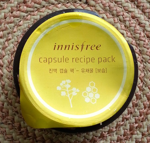 Innisfree Capsule Recipe Pack Review