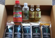 Raw Skincare Products purchased from Amazon.in