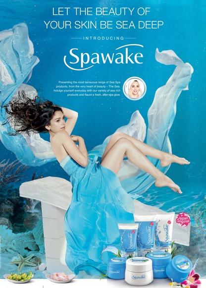 Spawake Whitening and Moisturizing Skincare Range