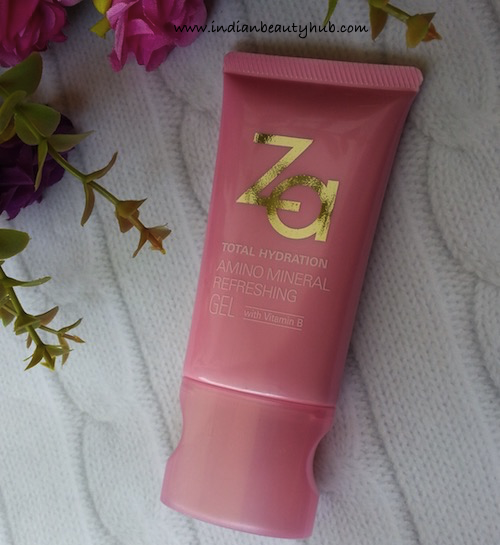 Za Total Hydration Amino Mineral Refreshing Gel Review