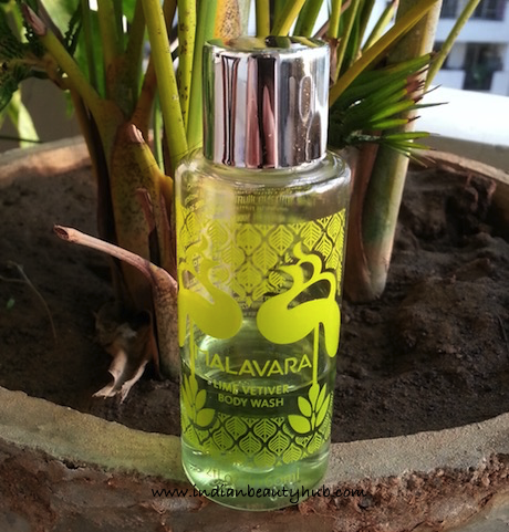 Malavara Lime Vetiver Body Wash Review