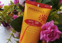 Patanjali Sun Screen Cream SPF 30 Review