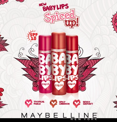 Maybelline Baby Lips Spiced Up Lip Balms