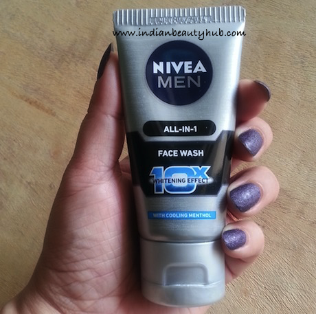 Nivea Men All-in-1 10x Whitening Effect Face Wash
