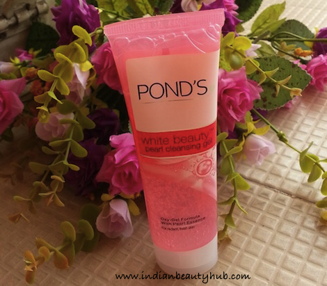 Pond's White Beauty Pearl Gel Face Wash Review
