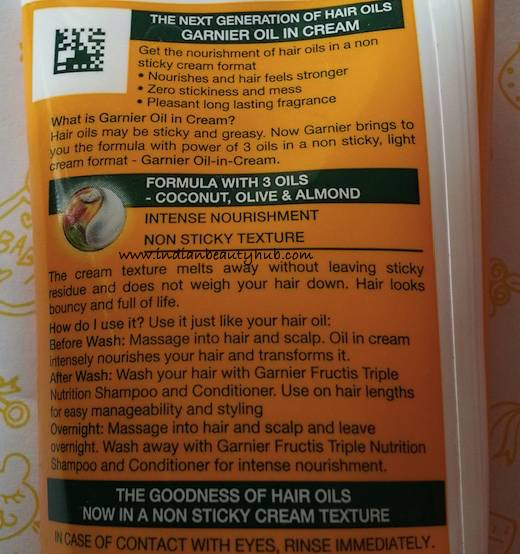 Garnier Fructis Oil-in-Cream Review 4