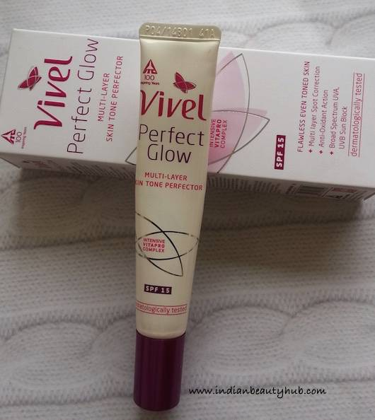 Vivel Perfect Glow Multi Layer Skin Tone Perfector Review 3