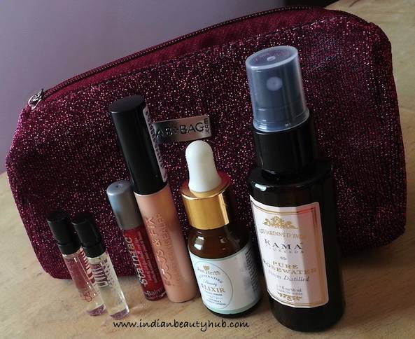 Fab Bag September 2015 Review2
