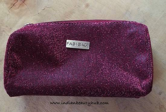 Fab Bag September 2015 Review6