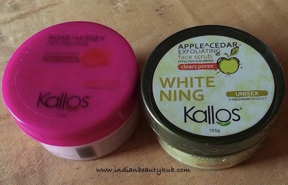 kallos face scrub