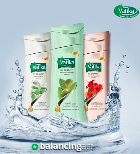 New Dabur Vatika Oil Balance Treatment Shampoo