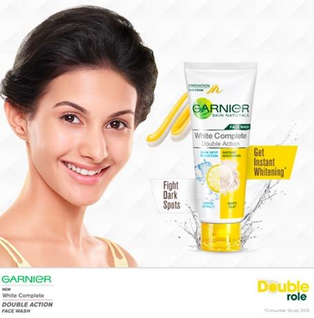 Garnier White Complete Double Action Face Wash