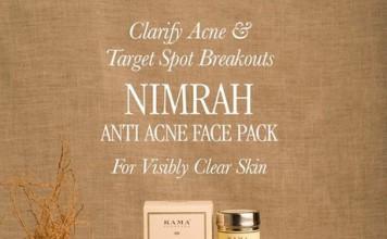 New Kama Ayurveda Nimrah Anti Acne Face Pack