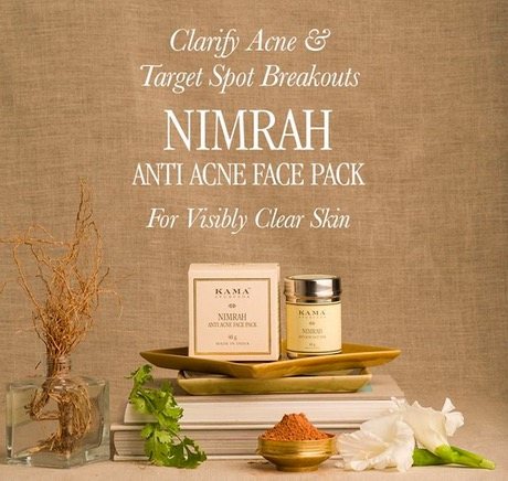 New Kama Ayurveda Nimrah Anti Acne Face Pack