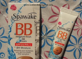 Spawake Moisture Fresh BB Cream Review - 02 Natural Glow