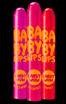 Maybelline Baby Lips Candy Wow Lip Balms