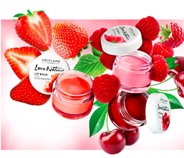 New! Oriflame Love Nature Lip Balm