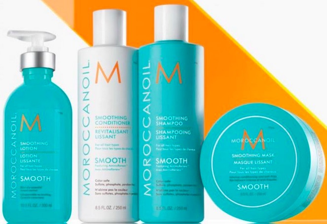 New Moroccanoil Smooth Collection