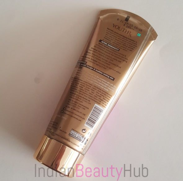 Lotus YouthRx Active Anti Ageing Exfoliator Review_4