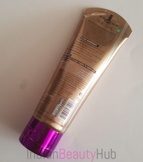 Lotus YouthRx Anti Ageing Firming Face Masque Review_5