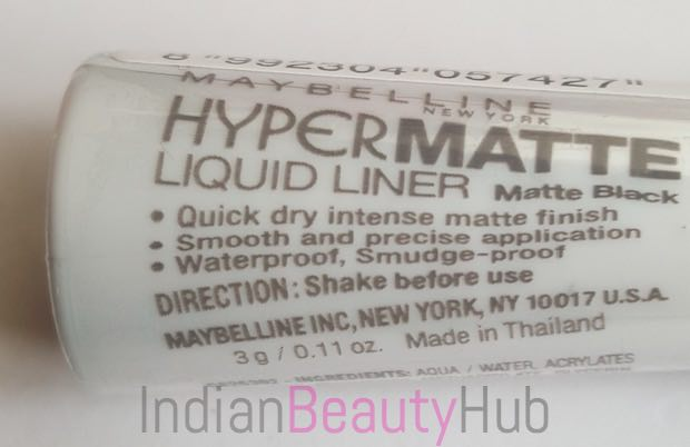 Maybelline Hyper Matte Liquid Liner Review_6