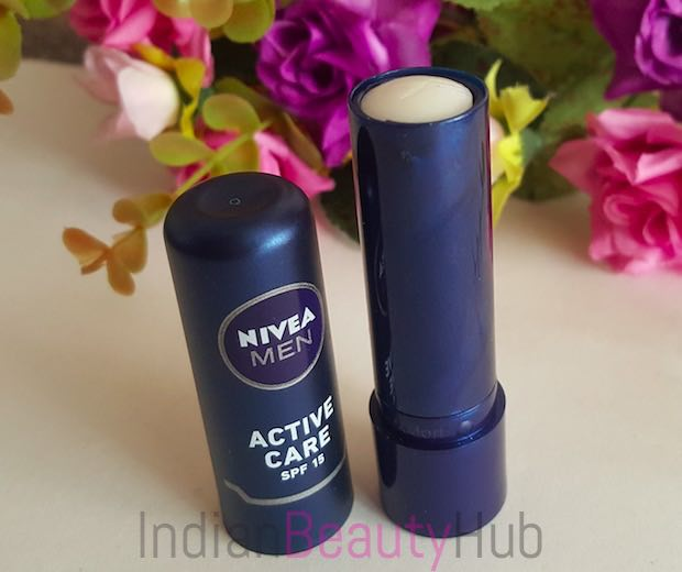 Nivea Men Active Care SPF 15 Lip Balm Review_2
