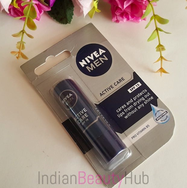 Nivea Men Active Care SPF 15 Lip Balm Review_4