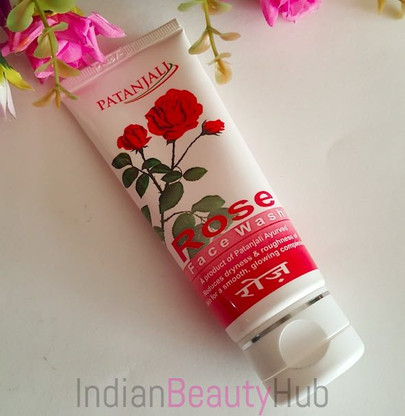 Patanjali Rose Face Wash Review_5