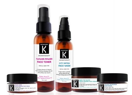Kronokare Aromatherapy Face Care Range