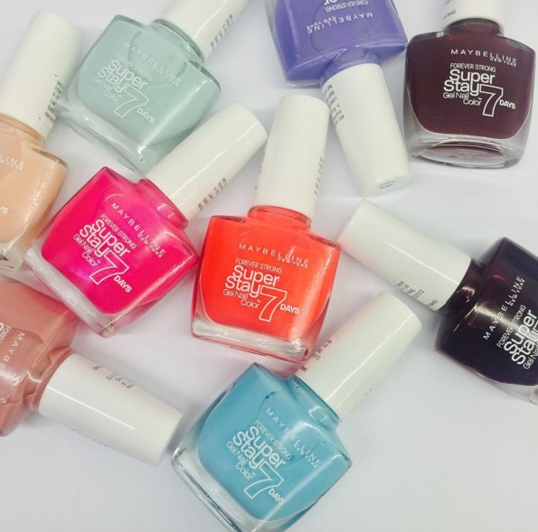 New Launch - Maybelline Superstay 7 Days Gel Nail Color - Indian ...