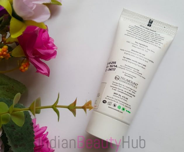 Votre White Essence Brightening Day Moisturiser SPF 25 Review_2