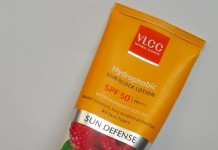 VLCC Sun Defense Hydrophobic Sun Block Lotion SPF 50 PA+++ Review