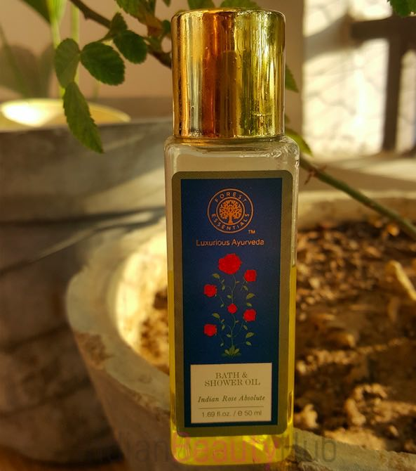 Forest Essentials Bath & SHower Oil Indian Rose Absolute Review
