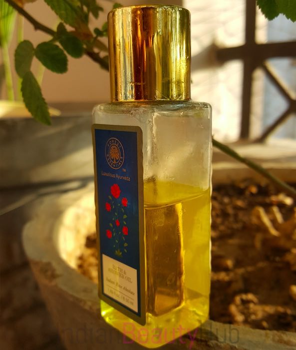 Forest Essentials Bath & SHower Oil Indian Rose Absolute Review_3
