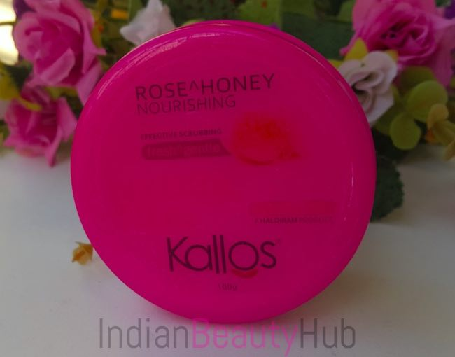 Kallos Rose & Honey Nourishing Face Scrub Review_2