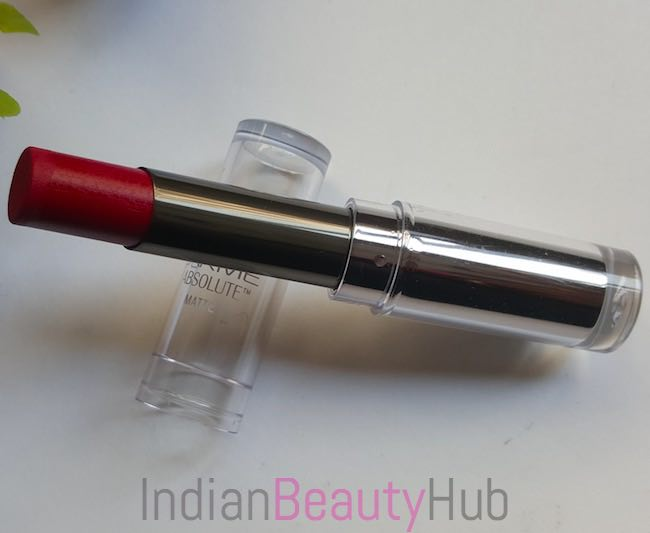 Lakme Absolute Sculpt Studio Hi-Definition Matte Lipstick Review_3
