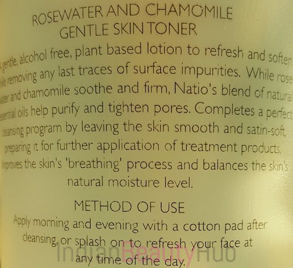 Natio Rosewater and Chamomlie Gentle Skin Toner Review_5