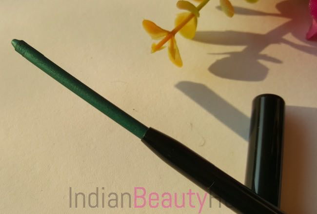 New Lakme Eyeconic Kajal Regal Green Review_2
