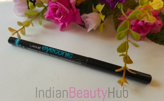 New Lakme Eyeconic Kajal Regal Green Review_3