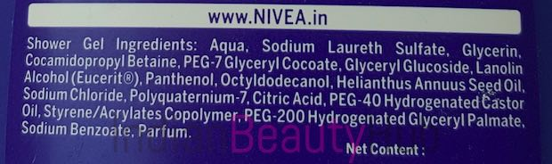 Nivea Creme Care Cream Shower Review_1