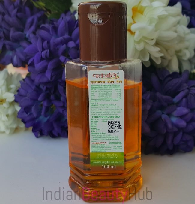 Patanjali Almond Hair Oil Review_1