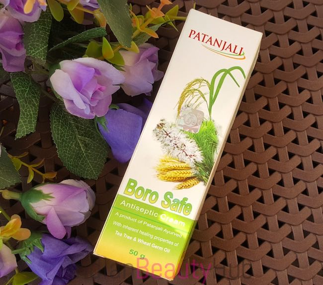Patanjali Boro Safe Antiseptic Cream Review_4