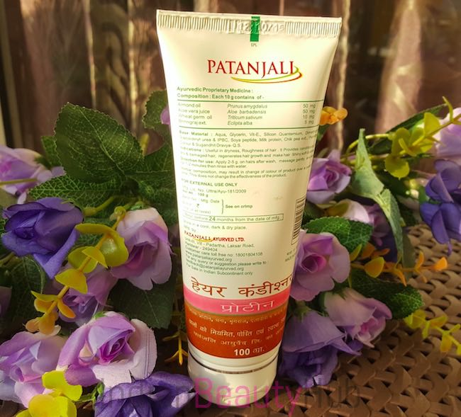 Patanjali Protein Hair Conditioner Review_2