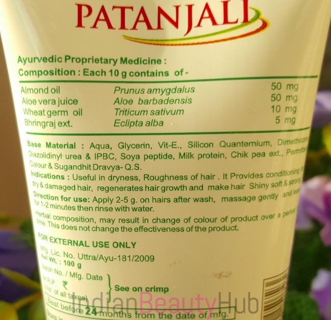 Patanjali Protein Hair Conditioner Review_6