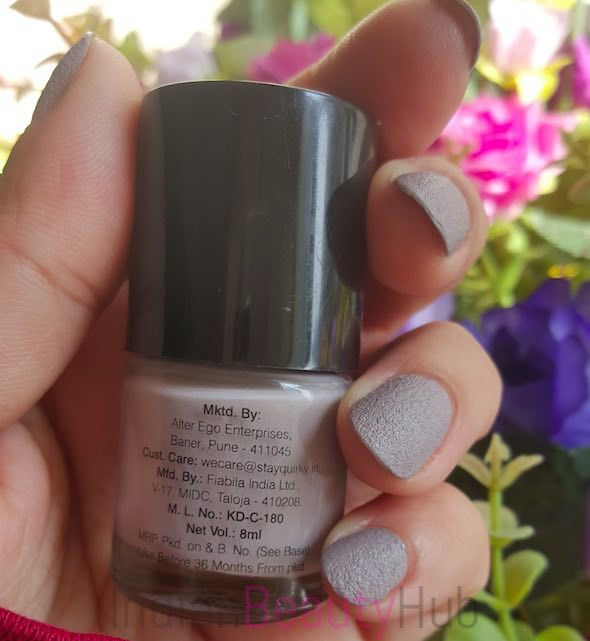 Stay Quirky Nail Paint Review_7