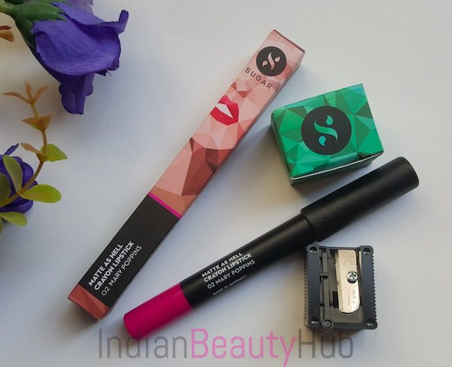 Sugar Matte As Hell Crayon Lipstick Mary Poppins Review_7