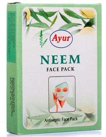 best neem face packs for acne oily skin