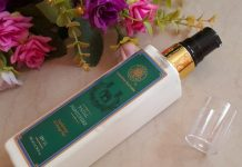 Forest Essentials Sandalwood & Orange Peel Facial Moisturizer Review