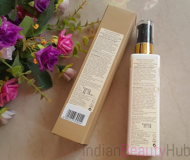 Forest Essentials Sandalwood & Orange Peel Facial Moisturizer_5